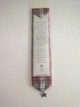Hallmark American Girl Molly McIntire Plaid Bookmark Charm Meet Molly - $17.77