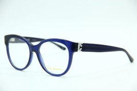 New Tory Burch Ty 2072 1565 Blue Eyeglasses Authentic Frame Rx TY2072 53-17 - $87.89