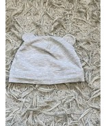 H&M Gray 6-9 Months Baby Hat With Ears - $5.64