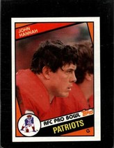 1984 Topps #137 John Hannah Exmt Patriots Hof *A32230 - $1.98