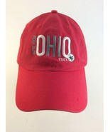 Ohio State Buckeyes Dad Hat Strapback CHAMPION Relaxed Fit Official  - $19.79