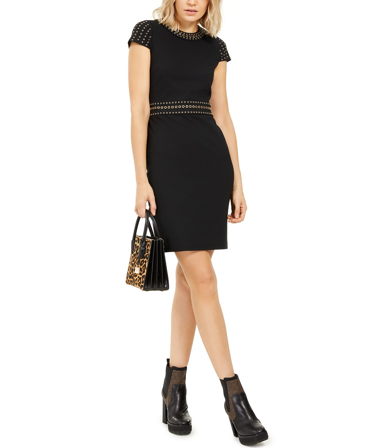 Primary image for Michael Michael Kors Grommeted Cap-Sleeve Sheath Dress