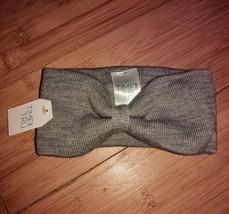 Time & Tru Women Winter Ladies Knit Headband Head Warmer Heather Grey - $3.91