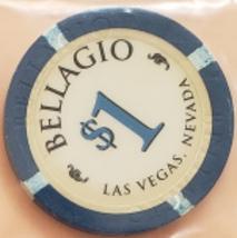 Bellagio Las Vegas, Nevada older design $1 Collectible Casino Chip - $2.95