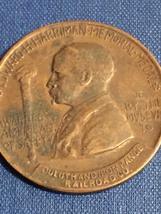 Edward H Harriman Memorial Medal Bronze Token - Duluth & Iron Range Railroad Co. image 2