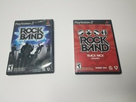 Playstation 2 Game Bundle of 2 - Rock Band - & - Rock Band Track Pack Volume 2 - - $24.74