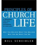 Principles Of Church Life [Paperback] Bill Scheidler - $14.11