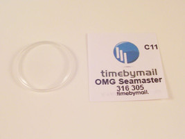 Watch Crystal Plexi Glass For OMEGA SEAMASTER Replacement Spare Part 31.6mm C11 - $19.84