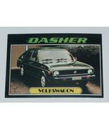 1976 Topps Autos of 1977 Yellow Volkswagon Dasher Car Card #97 VG-EX Con... - $17.80