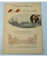 Vintage 1966 Treasured Collection Of Stephen Foster's Melodies Sheet Mus... - $29.00