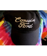 VTG Baseball Cap CORWIN FORD Motor Company Trucker hat Mannington WV - $29.65