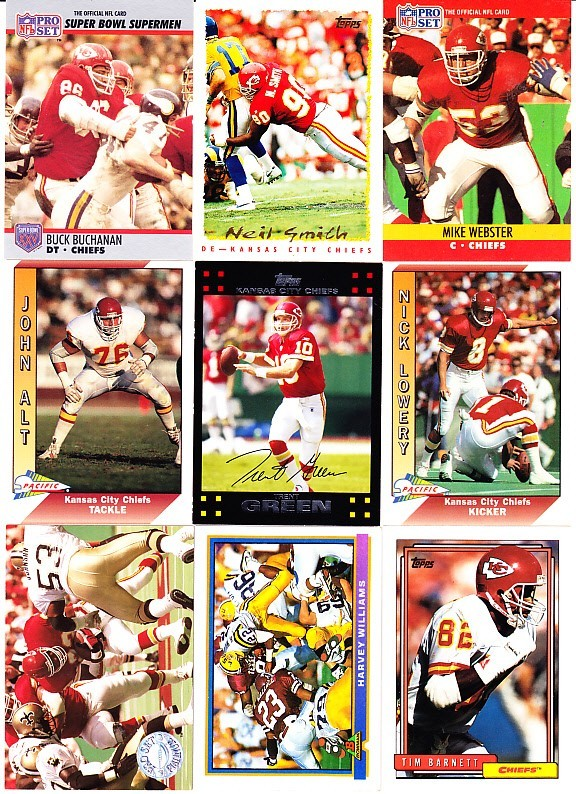 Kansas City Chiefs, Buck Buchanan, Neil Smith, Mike Webster, John Alt, Green