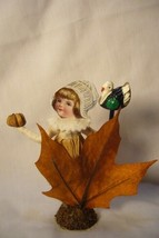 Vintage Inspired Spun Cotton Pilgrim Gril no. 289A image 2