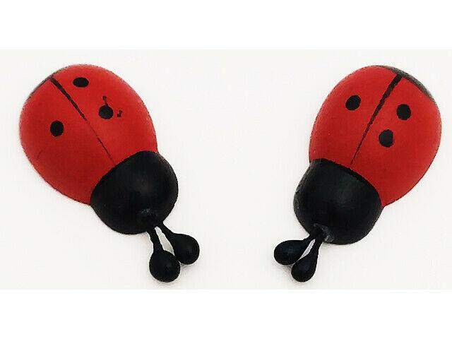Ladybugs, Flatback, 3-D, 8 Count #22-0957