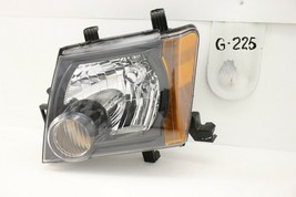 OEM HEADLIGHT HEAD LIGHT LAMP HEADLAMP NISSAN XTERRA BLACK 08-15 crack m... - $64.35