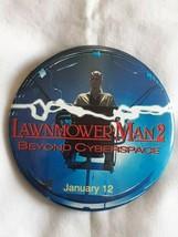 VTG Lawnmower Man 2 Beyond Cyberspace Pushpin Button 1995 Movie Promotio... - $6.77
