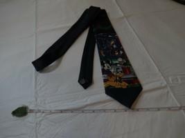Walt Disney Mickey Unlimited Cravatta Vincolo Natale Goofy Paperino Plut... - $16.07