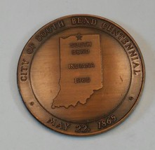 1865-1965 South Bend, Indiana Centennial Coin The Valley Of Promise - $4.50