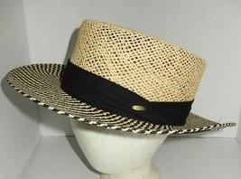 Dorfman Pacific Scala Classico Straw Hat Golf Coaching Men's Large/X-Large - $24.00