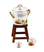 DOLLHOUSE Holiday Gluwein 1.634/6 Reutter Christmas Gluehwein Miniature - $27.21