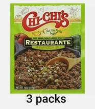 (3) packs Chi-Chi's Restaurante Seasoning Mix Onions Garlic Green Chilie... - $11.83