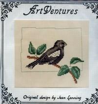 Colorado Lark Bunting Art Ventures Partial Cross Stitch Kit (Floss & Pat... - $5.37