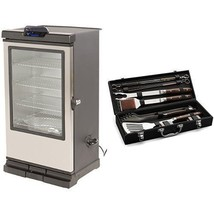 "Masterbuilt 40"" Bluetooth Smart Digital Electric Wood Chip Smoker & BBQ ... - £567.53 GBP"