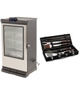 "Masterbuilt 40"" Bluetooth Smart Digital Electric Wood Chip Smoker & BBQ ... - £591.26 GBP"