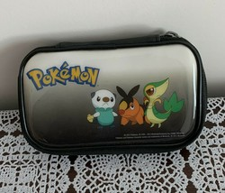 2011 Pokemon Nintendo DS  3DS Carrying Case Vinyl Zippered Travel Bag Pouch - $10.99