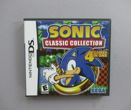 Nintendo DS Sonic Classic Collection 2009 rated E - $13.71