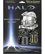HALO Game Master Chief Helmet Metal Earth 3-D Laser Cut Steel Model Kit ... - $15.44