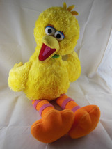 "Build A Bear 22"" BIG BIRD Yellow Plush With medallion RETIRED 2006 Sesam... - $13.26"