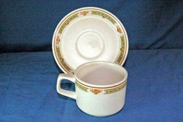 Lenox1985 Coral Blossoms Cup And Saucer - $6.29