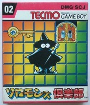 Nintendo Game Boy Gioco Software Tecmo Solomon's Club 1991 New Unopend N... - $75.13
