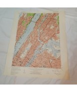 1956 VTG Map New York central Park quadrangle topo geological survey (b2)1 - $64.35