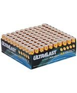 Ultralast ULA100AAB ULA100AAB Alkaline AA Batteries, 100 pk - $49.74