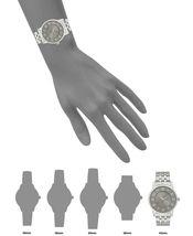 I.N.C. International Concepts Men's Silver-Tone Link Bracelet Watch 42mm NIB image 5