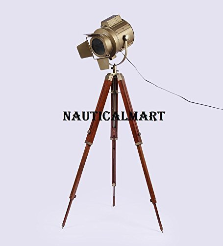 Primary image for NauticalMart Antique Finish Designer Searchlight  With Tripod Stand