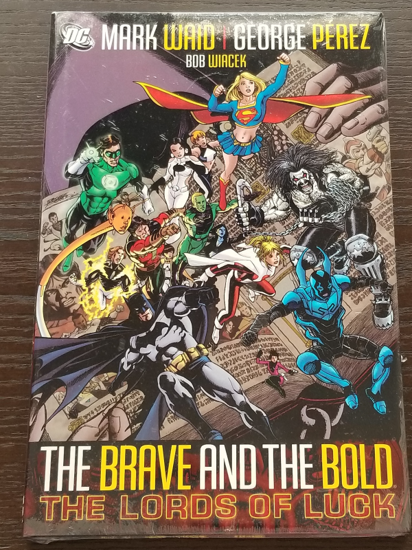 Primary image for The Brave and the Bold The Lords of Luck Hardcover Graphic Novel