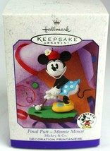 Hallmark Keepsake Final Putt Minnie Mouse Mickey & Co. Disney Ornament 1999 - $11.00