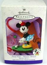 Hallmark Keepsake Final Putt Minnie Mouse Mickey & Co. Disney Ornament 1999 - $11.00