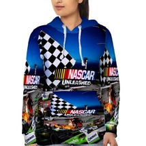 Nascar Racing 02    Hoodie Fullprint for women - $40.99+