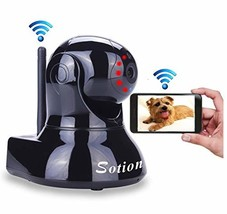 Sotion Video Baby Monitor, HD Wireless Pet Camera with Two Way Audio and... - $51.38
