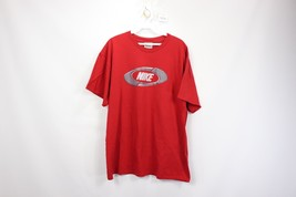 Vintage 90s Nike Mens XL Just Do It Spell Out Short Sleeve Tee Shirt Red... - $28.66