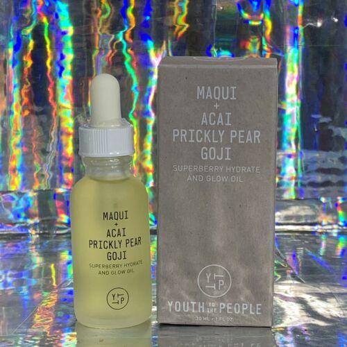 NIB Youth To The People 1oz Maqui + Acai Prickly Pear Goji Superberry Glow Oil