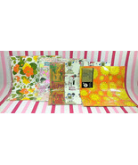 Darling Vintage Gift Wrapping Sheets FaB Retro Colors & Graphics 5pc Col... - $10.00
