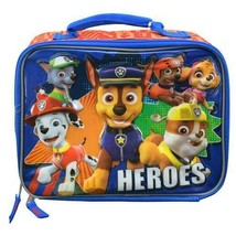 Nickelodeon Paw Patrol Rectangle Lunch bag Soft Kit Insulated Cooler Her... - $9.59