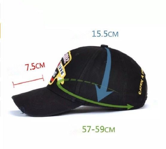 e0ddc11e876 ... New Fashion Brand Men Baseball Caps High Quality DSQICOND2 Snapback Hats  ...