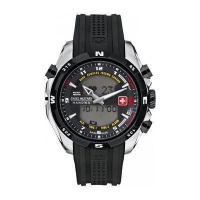 Mens Quartz Watch Swiss Military - HIGHLANDER_06-4174_04_0 Black Water Resistant