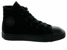 Converse All Star Chuck Original CT Hi Mono Black 7S121 Toddler Shoes - $28.95